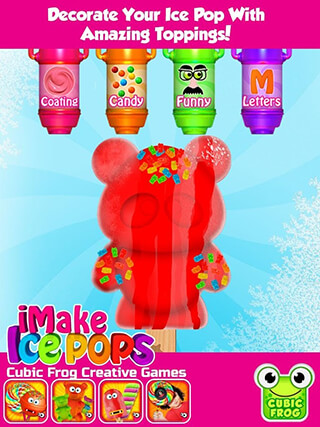 iMake Ice Pops: Ice Pop Maker скриншот 4