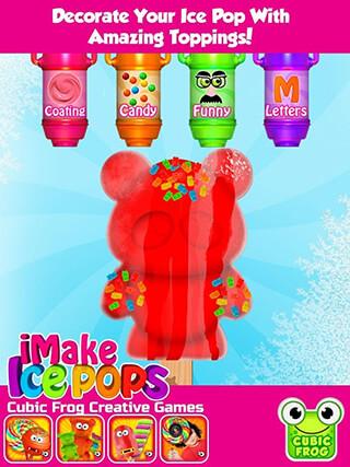 iMake Ice Pops: Ice Pop Maker скриншот 4