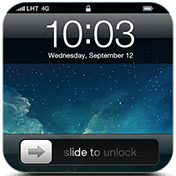 Блокировка экрана (Slide to Unlock Lock Screen)