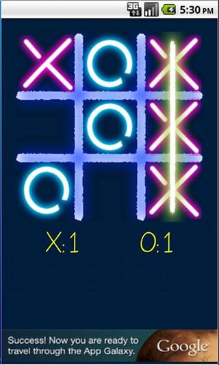 Tic Tac Toe: Glow скриншот 2