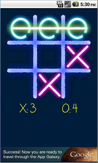 Tic Tac Toe: Glow скриншот 3