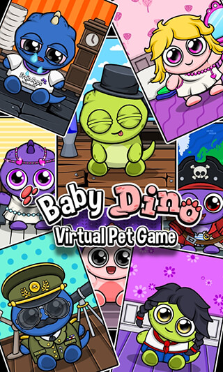 Baby Dino: Virtual Pet Game скриншот 1