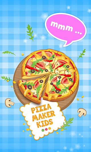 Pizza Maker Kids: Cooking Game скриншот 1