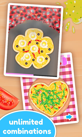 Pizza Maker Kids: Cooking Game скриншот 3