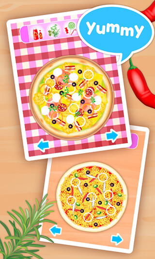 Pizza Maker Kids: Cooking Game скриншот 4