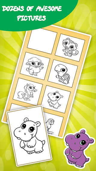 Coloring Games for Kids: Animal скриншот 3
