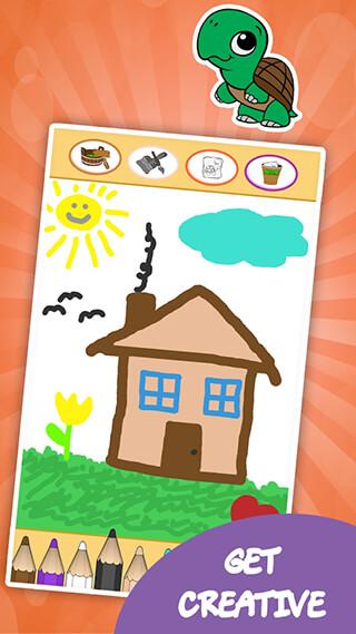 Coloring Games for Kids: Animal скриншот 4
