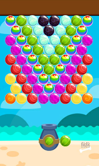 Island Bubble Shooter скриншот 1