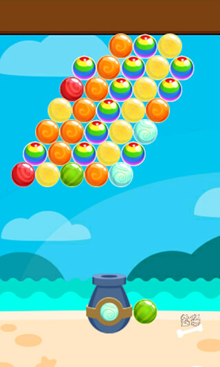 Island Bubble Shooter скриншот 2