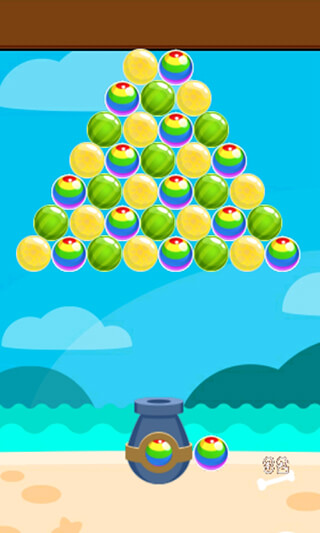 Island Bubble Shooter скриншот 3