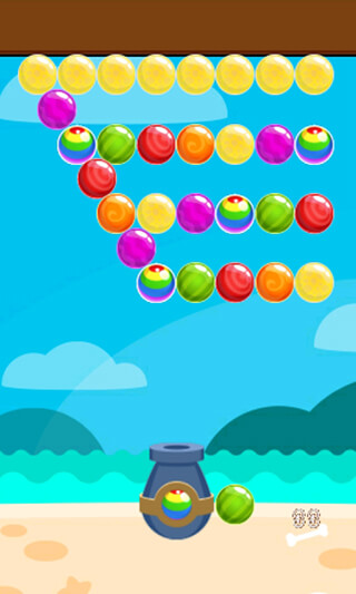 Island Bubble Shooter скриншот 4