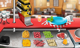 Cooking Stand Restaurant Game скриншот 1