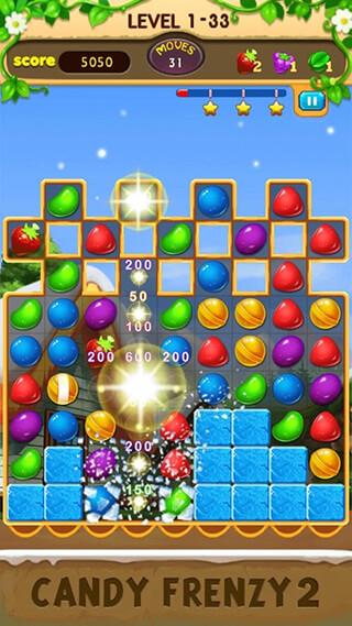 Candy Frenzy 2 скриншот 1