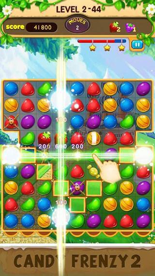 Candy Frenzy 2 скриншот 2