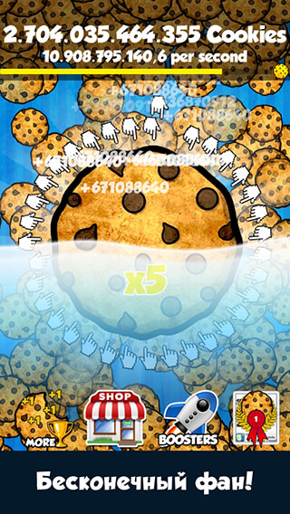 Cookie Clickers скриншот 2
