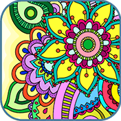 Mandala: Adults Coloring Book иконка