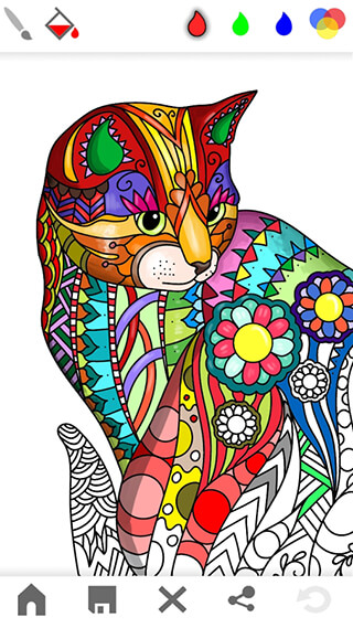 Mandala: Adults Coloring Book скриншот 1