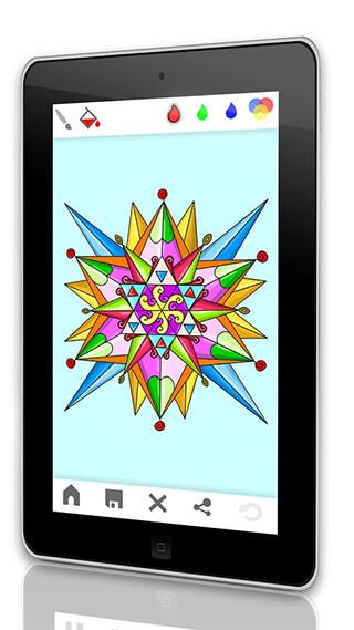 Mandala: Adults Coloring Book скриншот 3