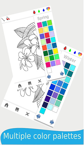 Mandala: Adults Coloring Book скриншот 4