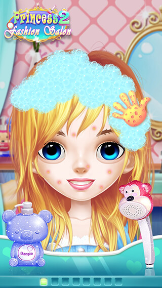 Princess Makeup Salon 2 скриншот 1