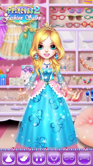 Princess Makeup Salon 2 скриншот 4