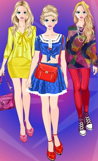 Princess Dress Up Fashion скриншот 1