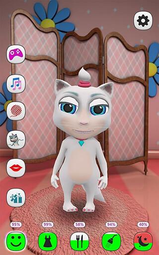 My Talking Kitty Cat скриншот 1