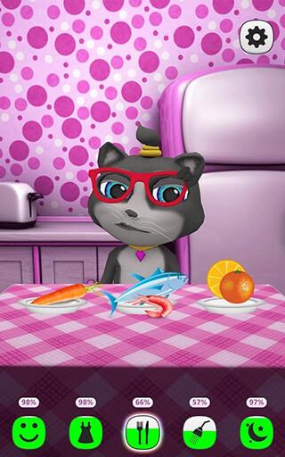 My Talking Kitty Cat скриншот 2