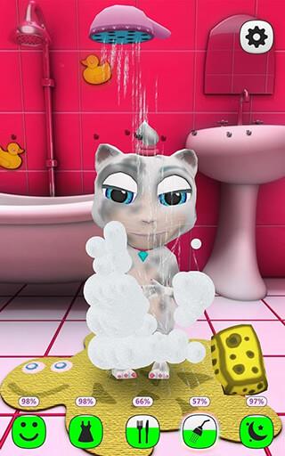 My Talking Kitty Cat скриншот 3