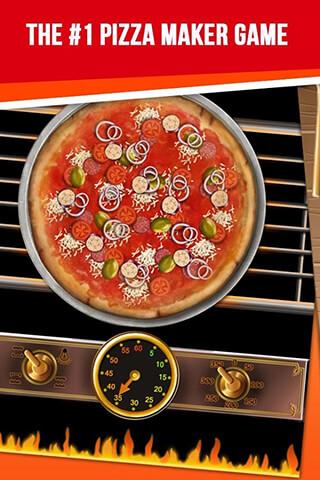 Pizza Maker: My Pizza Shop скриншот 1