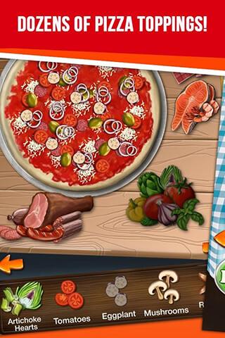 Pizza Maker: My Pizza Shop скриншот 4