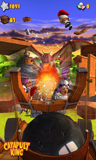 Catapult King скриншот 3