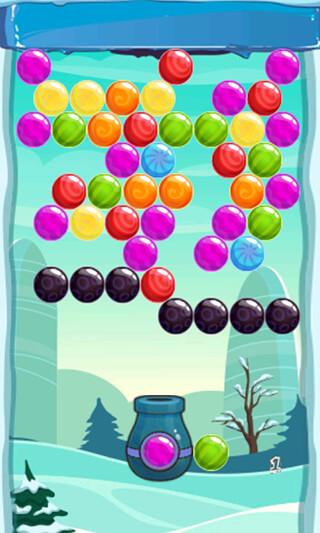 Snow Winter: Bubble Shooter скриншот 1