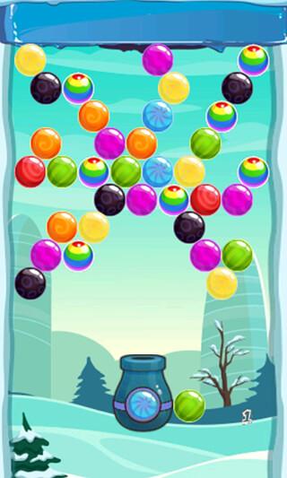 Snow Winter: Bubble Shooter скриншот 2