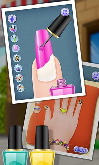 Nail Makeover: Girls Games скриншот 1