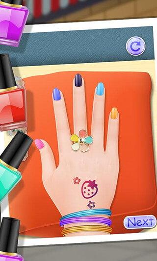 Nail Makeover: Girls Games скриншот 2