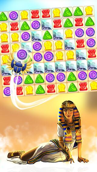 Curse of the Pharaoh: Match 3 скриншот 2