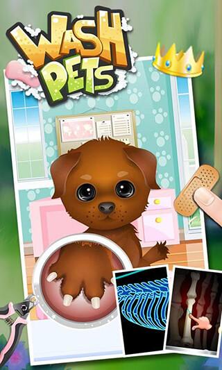 Wash Pets: Kids Games скриншот 2