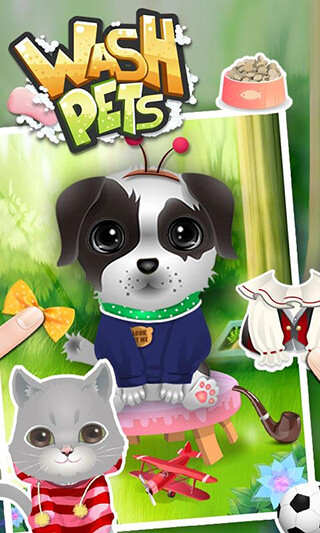 Wash Pets: Kids Games скриншот 3