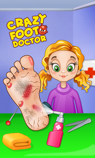 Crazy Foot Doctor скриншот 1