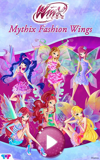 Winx Club: Mythix. Fashion Wings скриншот 2