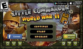 Little Commander: WWII TD скриншот 1