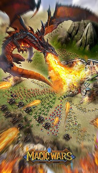 Magic Wars скриншот 1