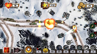 Tower Defense: Tank War скриншот 2
