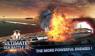Sea Battle: Warships 3D скриншот 1