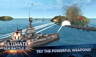 Sea Battle: Warships 3D скриншот 2