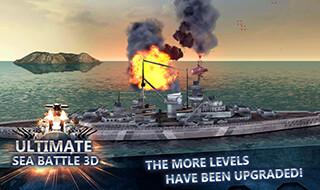 Sea Battle: Warships 3D скриншот 3