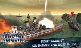 Sea Battle: Warships 3D скриншот 4