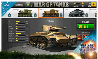 War of Tanks скриншот 2