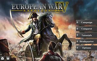 European War 4: Napoleon скриншот 1